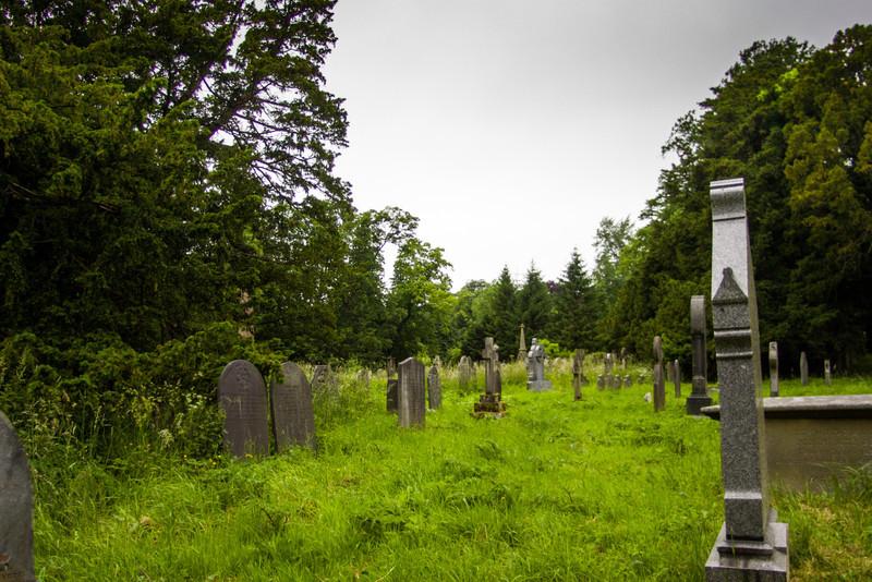 Llantysilio Churchyard, Llangollen, Wales<br /> Llantysilio Churchyard, Llangollen, Wales