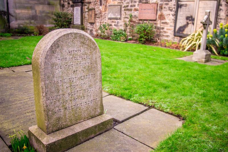 Edinburgh, Scotland<br /> St Cuthbert's Churchyard.