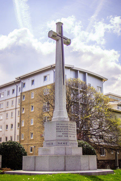 Edinburgh, Scotland<br /> War memorial in Rosebank Cemetery.