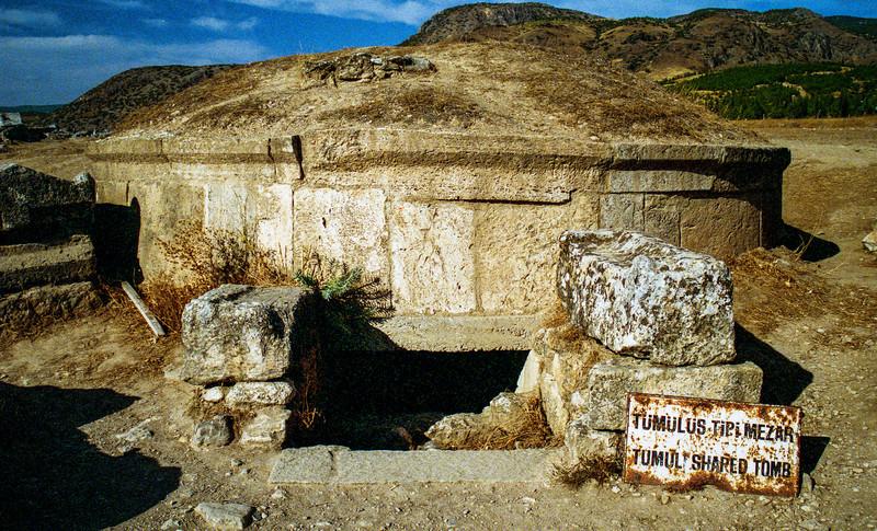The Hierapolis Necropolis.