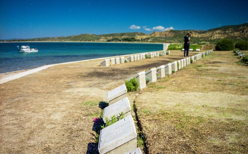 Anzac Cove Cemetery.