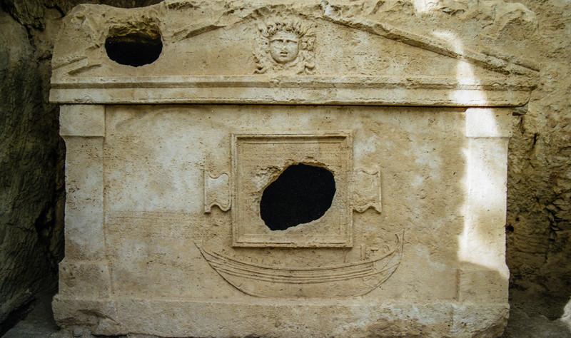 Sarcophagus of Captain Eudemos.