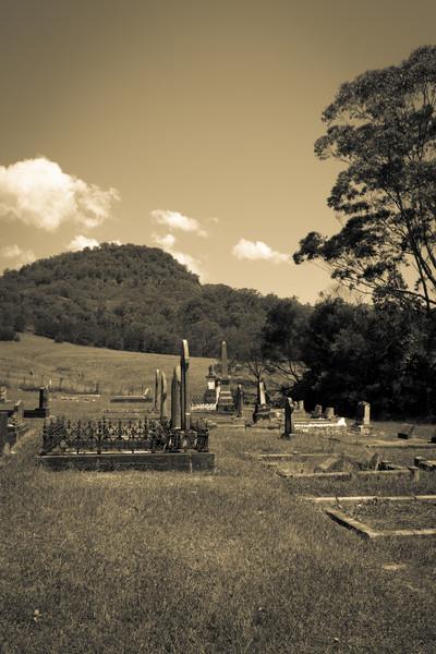 Kangaroo Valley, NSW, Australia<br /> Kangaroo Valley Cemetery. Consecrated 1870.