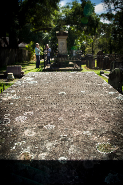 Grave of Surgeon and Magistrate, Thomas Arndell <br /> St Matthews Anglican Church, Windsor, Australia