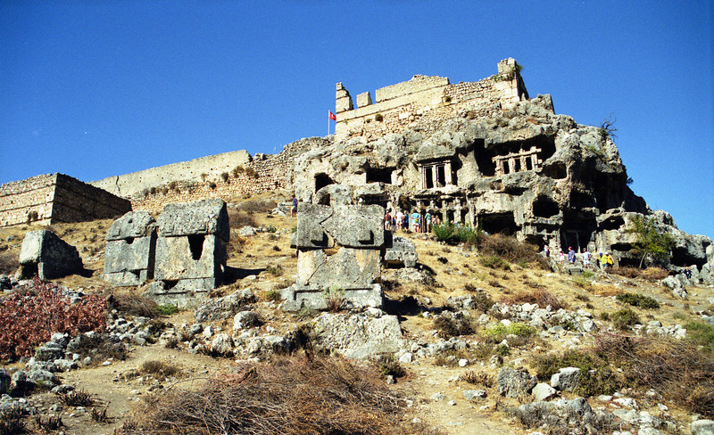 The ancient city of Tlos.