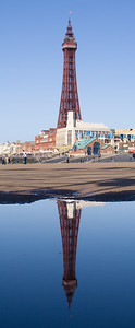 Blackpool Tower on a clear day