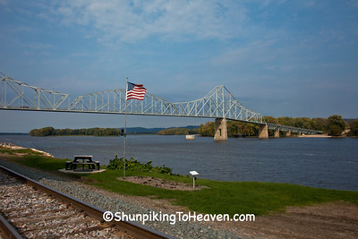 Black Hawk Bridge Lansing, Iowa