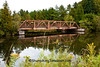 Old Metal Bridge, Baraga County, Michigan