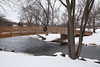 Footbridge Over Sugar River, Belleville, Wisconsin