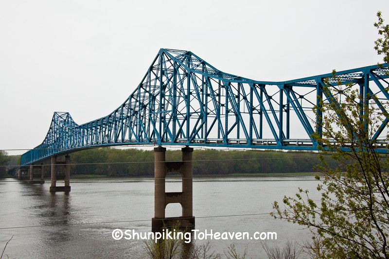 Savanna-Sabula Bridge, Carroll County, Illinois