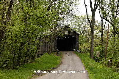George Miller Covered Bridge, Brown County, Ohio