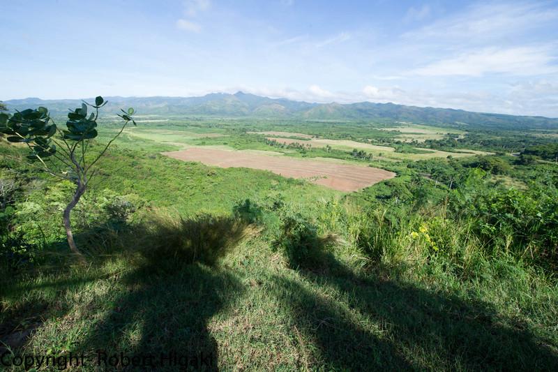 somewhere near Trinidad; what was left of sugar plantations