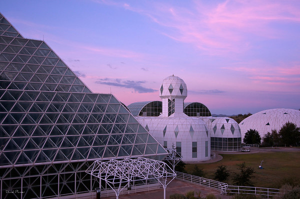 Sunrise At Biosphere II