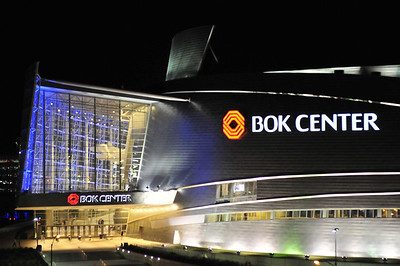 BOK Center, Downtown Tulsa, Cesar Pelli (2008)