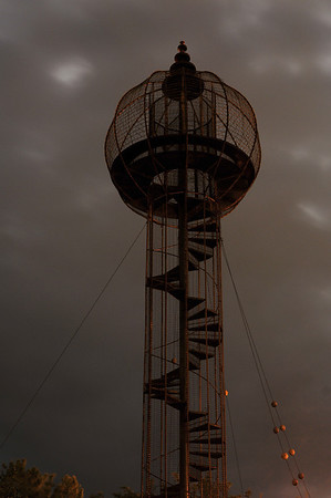 Play Tower, Sooner Park, Bartlesville OK, Bruce Goff (1963)
