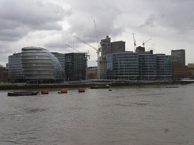 Pretty buildings on the banks of the Themes taken from the Eye of London.  It was raining - and that's water on the lens in the lower left hand corner.