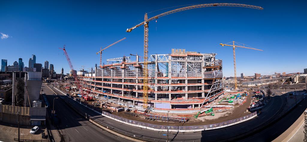 Vikings Stadium Construction 2014-2016