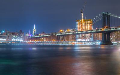 One Manhattan Square & Manhattan Bridge