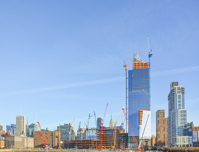Hudson Yards Redevelopment in Late 2011