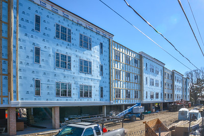 Affordable units under construction
