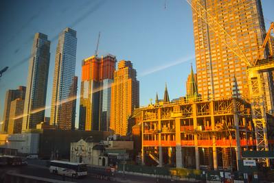 Midtown Manhattan Construction - November 2014