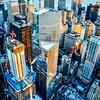 Winter Skyscrapers of Lower Manhattan