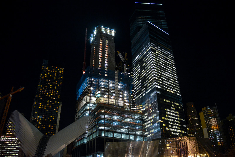 World Trade Center Construction - November 2015
