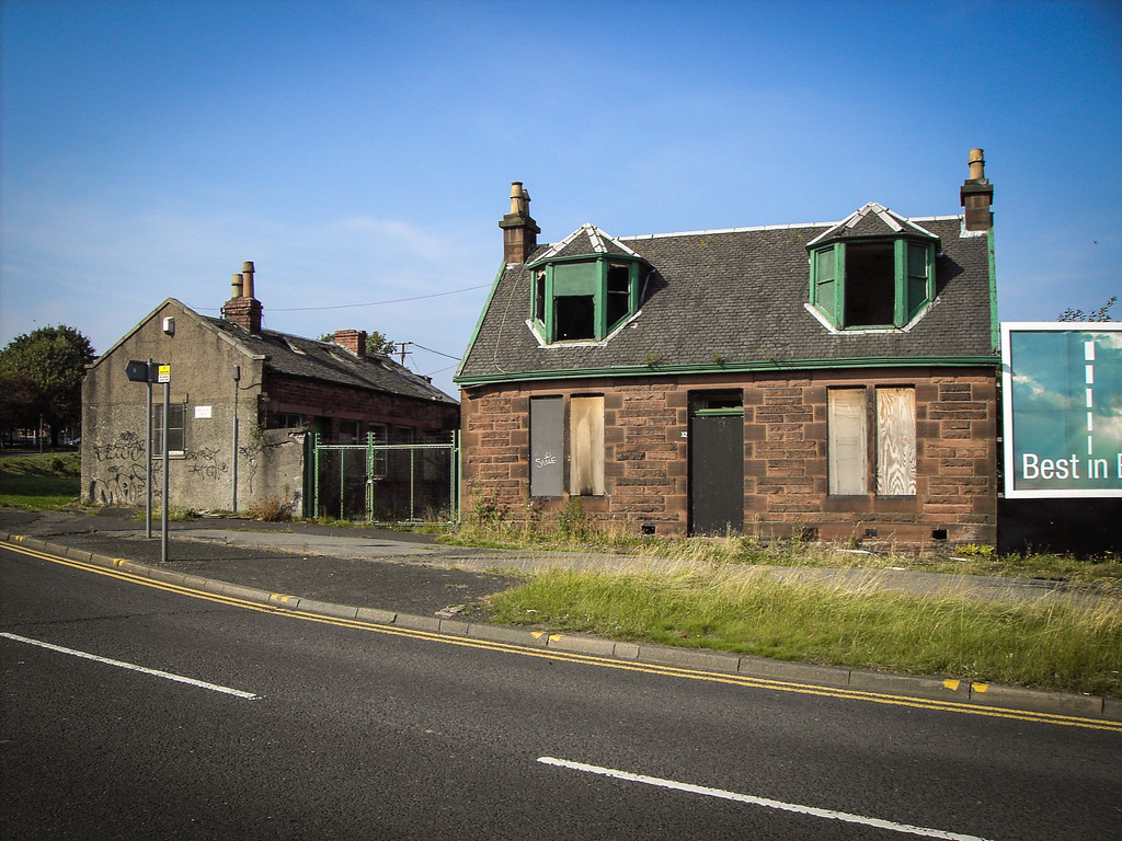 Cambuslang, Glasgow<br /> Ready for a little work.