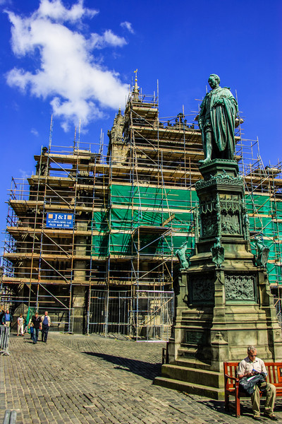 Edinburgh, Scotland<br /> St Giles' Cathedral. More correctly, the High Kirk of Edinburgh.