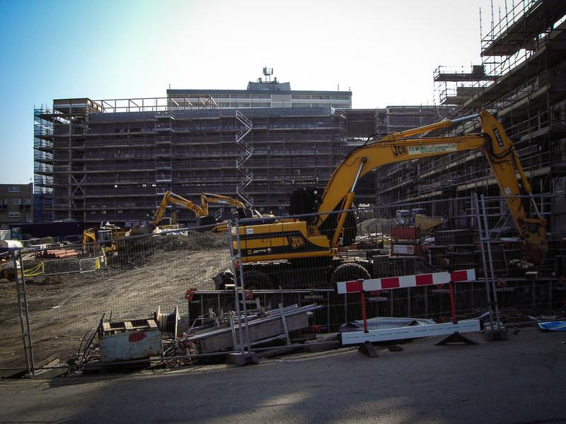 Cambuslang, Glasgow<br /> Rebuilding.