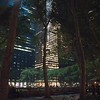 Bank of America Tower at Bryant Park, Manhattan, New York. Second tallest building in the US and designed to be one of the most efficient and ecologically friendly buildings in the world.