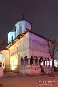 Biserica Coltea - noaptea