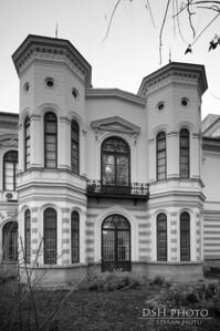 Palatul Sutu - fatada laterala - ziua