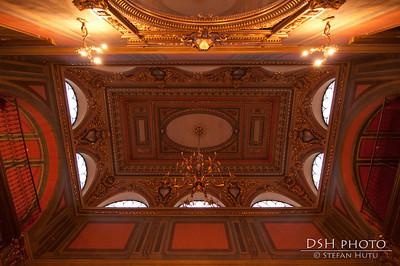 Palatul Sutu - tavan