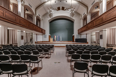 Theatre inside the Peter MacKinnon Building