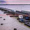 031120 - 0935 Floating Bridge - Demerara Bridge - Georgetown, Guyana