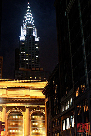 The Chrysler Building and Grand Central Station, NYC