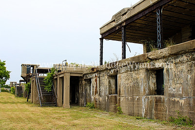 Sandy Hook, NJ 7/14/2014 Fort Hancock at Sandy Hook—part of Gateway National Recreation Area—provided coastal defense for New York Harbor from 1895 until 1974. During the height of the Cold War, the fort housed Nike missiles prepared to intercept warplanes threatening New York City. Just a quick trip from Manhattan by ferry, this National Historic Landmark district at Sandy Hook is open for the public to explore. http://www.nyharborparks.org/visit/foha.html