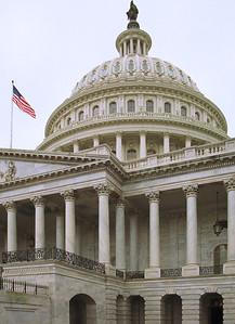 East Portico, Capitol Building, Washington