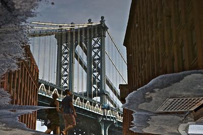 Reflection, DUMBO, Brooklyn, New York 2011