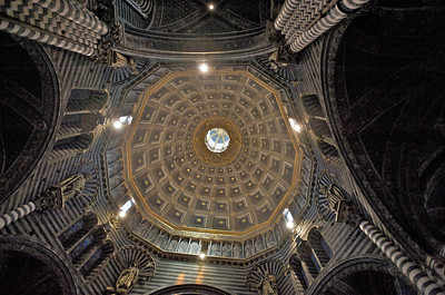 Cathedral Dome, Siena Cathedral, Siena, Italy