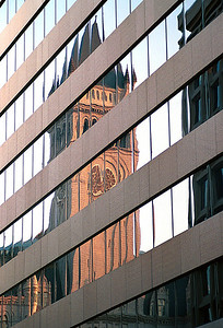Old Post Office Building Reflection, Washington