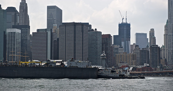 Lower Manhattan and the East River, New York 2011