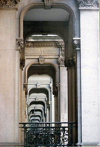 Porticoes, Knightsbridge, London