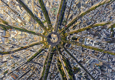 Photos from above the cities