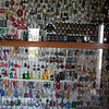 This picture is the highlight of the trip- world largest key chain collection- I should correct this. Some guy named Brent Dixon of Georgia has the record so maybe this is the second largest collection???? It was quite impressive