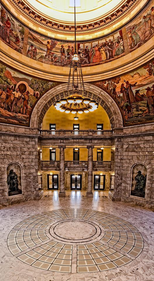 Making a Grand Entrance @ Utah State Capital