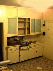 First floor -- Original kitchen