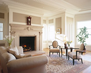 Second Floor -- Living Room