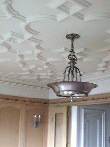 Original dining room ceiling detail